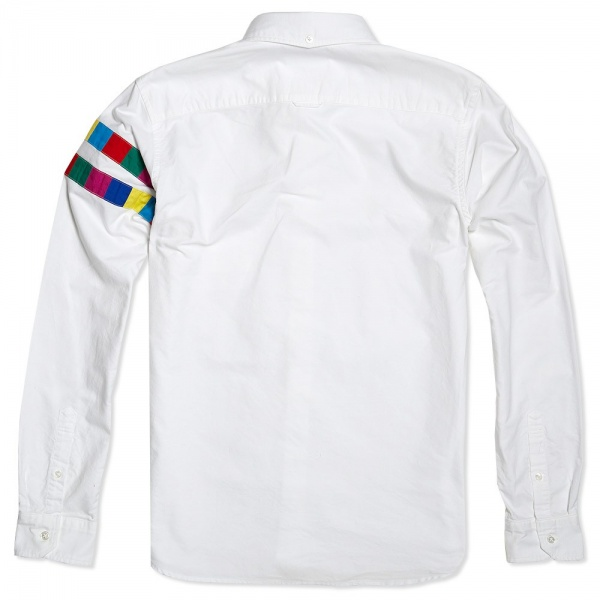 23 08 2013 uniformexperiment colourchartlinebdshirt white2 Uniform Experiment Color Chart Line Button Down Shirt