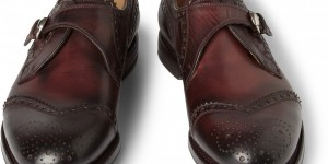 Gucci Leather Monk Strap Brogues