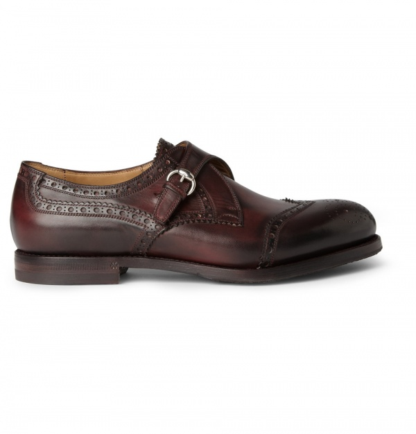 359251 mrp in xl Gucci Leather Monk Strap Brogues
