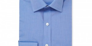 Emma Willis Blue Cotton Woven Shirt