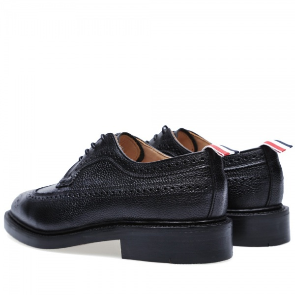 03 07 2013 tb brouguet black2 Thom Browne Long Wing Brogue