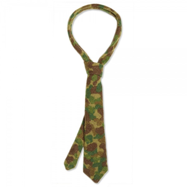 12 09 2013 monitaly wooltee camo1 Monitaly Wool Camouflage Tie