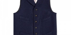 "Nigel Cabourn ""Mallory"" Vest"