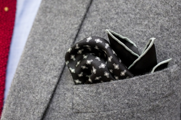 Drakes London for Hodinkee Limited Edition Tie & Pocket Square