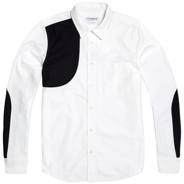 03 10 2013 oamc jahn darknavywhite 1 1 Over All Master Cloth Jahn Shirt