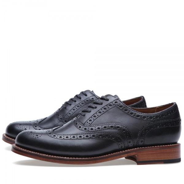 14 05 2013 grenson stanleybrougue black3 Grenson Angus Brogue Shoe