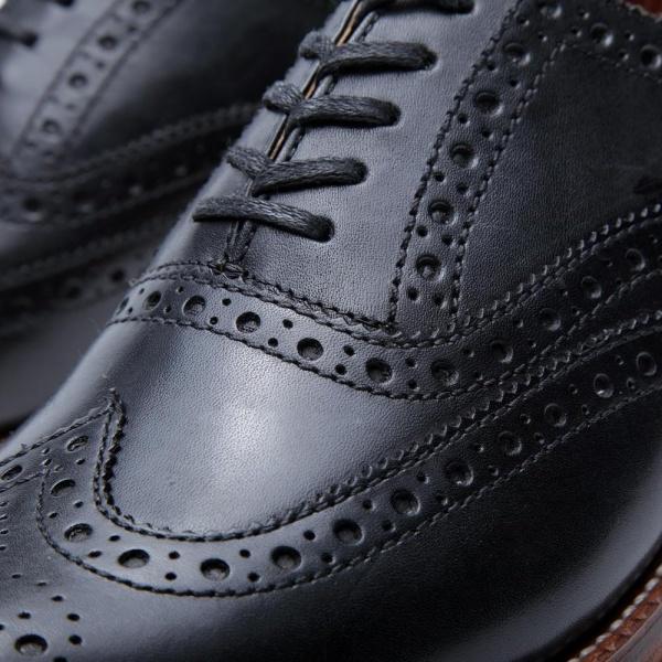 14 05 2013 grenson stanleybrougue black4 Grenson Angus Brogue Shoe