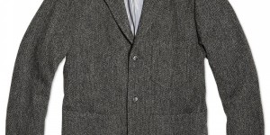 Journal Standard 3 Button Tweed Workers Jacket