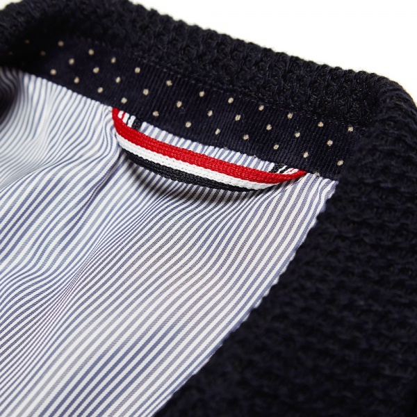 25 11 2013 js russellcode2button navy 5 Journal Standard 2 Button Knitted Blazer