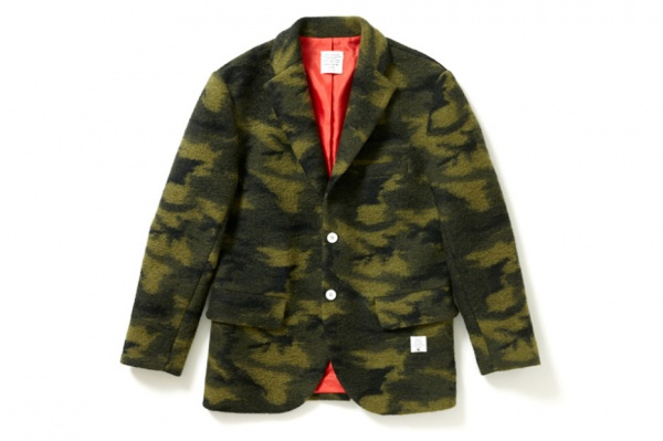 applebum wool camo tailored jacket 1 Applebum Wool Camouflage Tailored Jacket