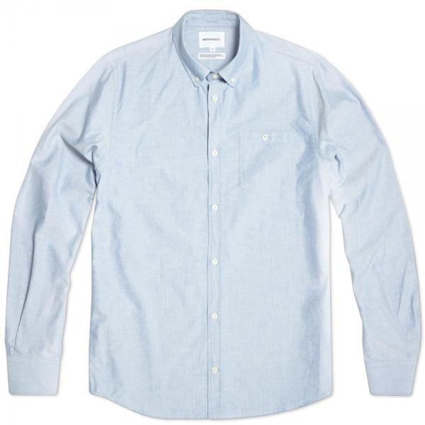 16 08 2013 np antonoxford navy 1 Norse Projects Anton Oxford Dress Shirt