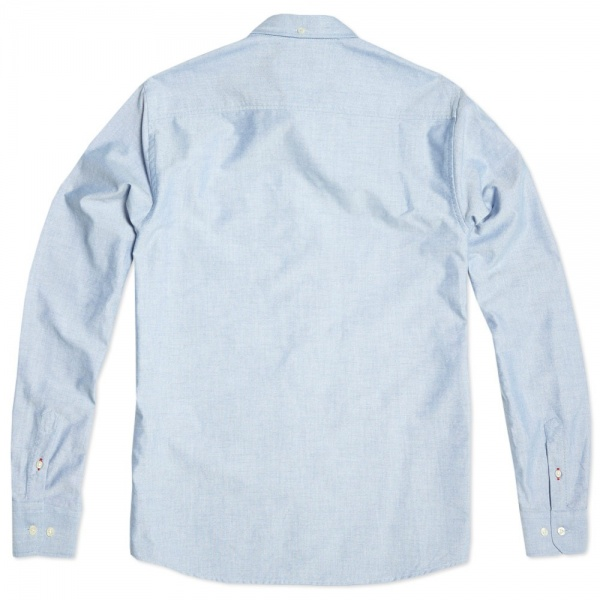 16 08 2013 np antonoxford navy 2 Norse Projects Anton Oxford Dress Shirt