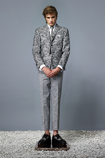 thom browne 2014 springsummer lookbook 03 Thom Browne Spring/Summer 2014 Collection