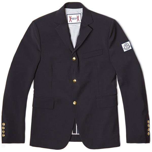 07 01 2014 monclergb woolblazer navy 1 Moncler Gamme Bleu Wool Blazer