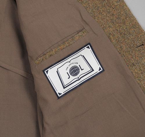 TheJanteLawSportsCoatGreen L10 The Jante Law Single Button Wool Sport Coat
