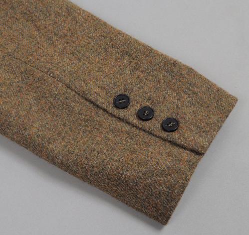 TheJanteLawSportsCoatGreen L11 The Jante Law Single Button Wool Sport Coat