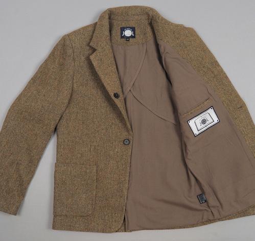 TheJanteLawSportsCoatGreen L3 The Jante Law Single Button Wool Sport Coat