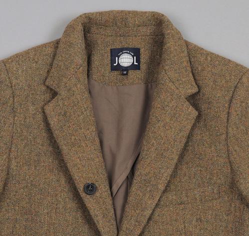 TheJanteLawSportsCoatGreen L5 The Jante Law Single Button Wool Sport Coat