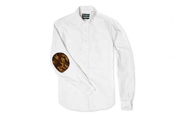 end x gitman vintage elbow patch oxford shirt 2 End x Gitman Vintage Elbow Patch Oxford Shirt