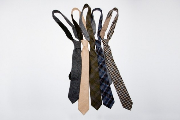 pierrepont hicks ties 01 630x420 Pierrepoint Hicks Handcrafted Wool Ties