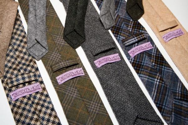 pierrepont hicks ties 03 630x420 Pierrepoint Hicks Handcrafted Wool Ties