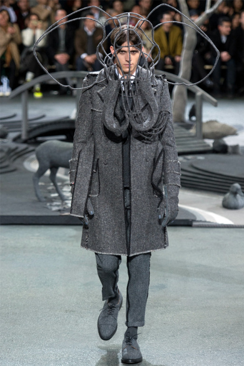 thom browne fall winter 2014 1 Thom Browne Fall/Winter Mens Runway Looks