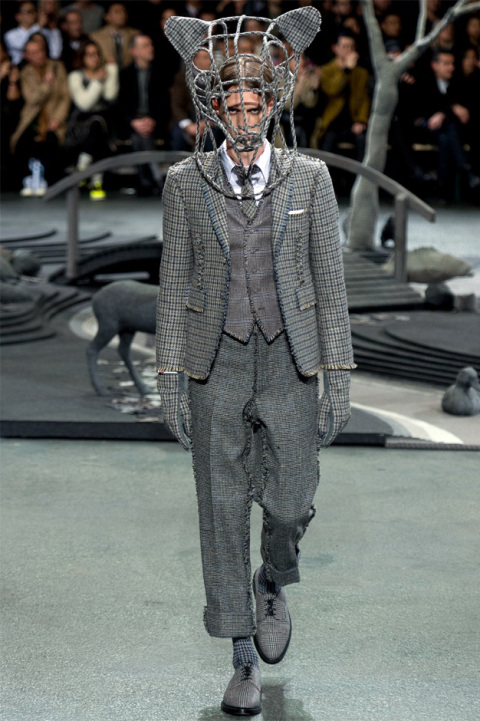 thom browne fall winter 2014 2 Thom Browne Fall/Winter Mens Runway Looks