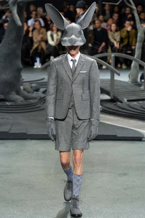 thom browne fall winter 2014 3 Thom Browne Fall/Winter Mens Runway Looks