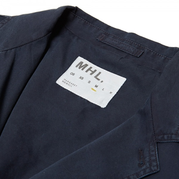 10 03 2014 mhlbymargarethowell workblazer darkblue 5 1 MHL by Margaret Howell Work Blazer