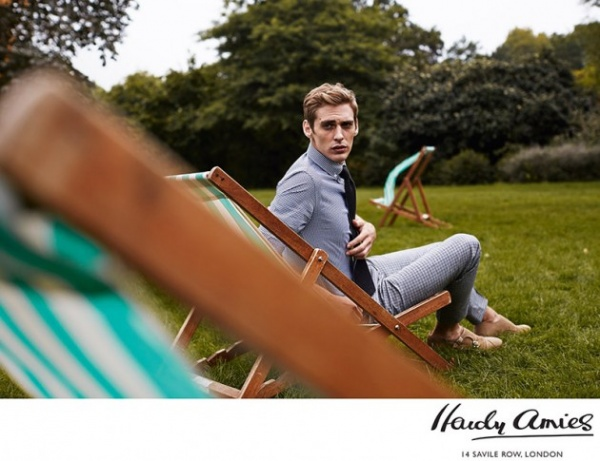 Hardy Amies Spring 2014 0 630x485 Hardy Amies of Saville Row Spring/Summer 2014 Lookbook
