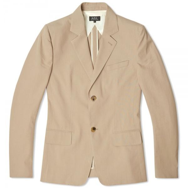01 04 2014 apc cottonblazer beige 1 A.P.C. Cotton Blazer