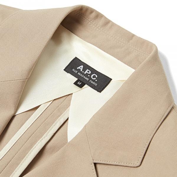 01 04 2014 apc cottonblazer beige 4 A.P.C. Cotton Blazer