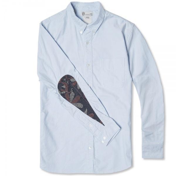 03 04 2014 visvim albacoreflorashirt lightblue d1 Visvim Albacore Floral Accent Button Down Shirt