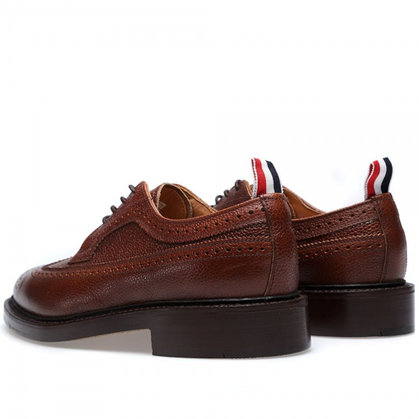 07 02 2014 tb splitweltsolewingtipbrogue brownpebble 3 Thom Browne Split Welt Sole Long Wing Brogue