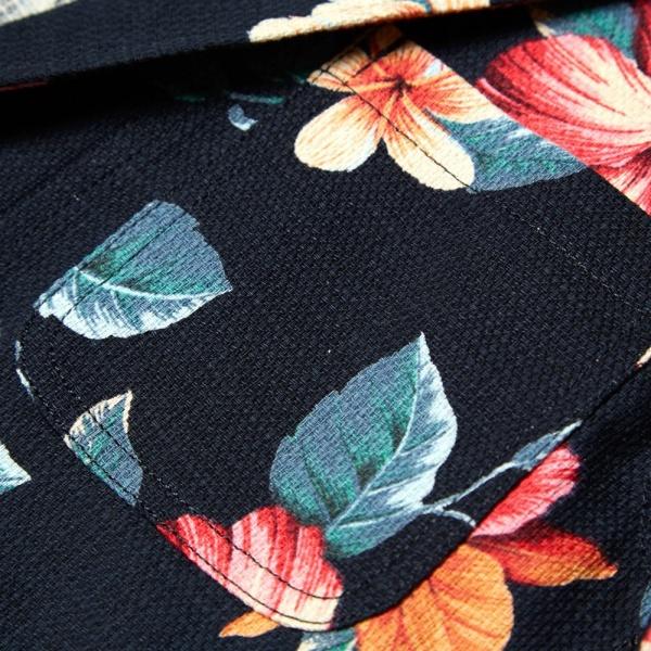 18 04 2014 sophnet pripera2buttonunconjacket navyflower d1 Sophnet. Pripera Navy Flower Print 2 Button Blazer