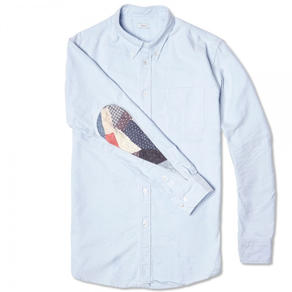 21 05 2014 visvim albacorepatchworkshirt lightblue 2 Visvim Albacore Patchwork Dress Shirt