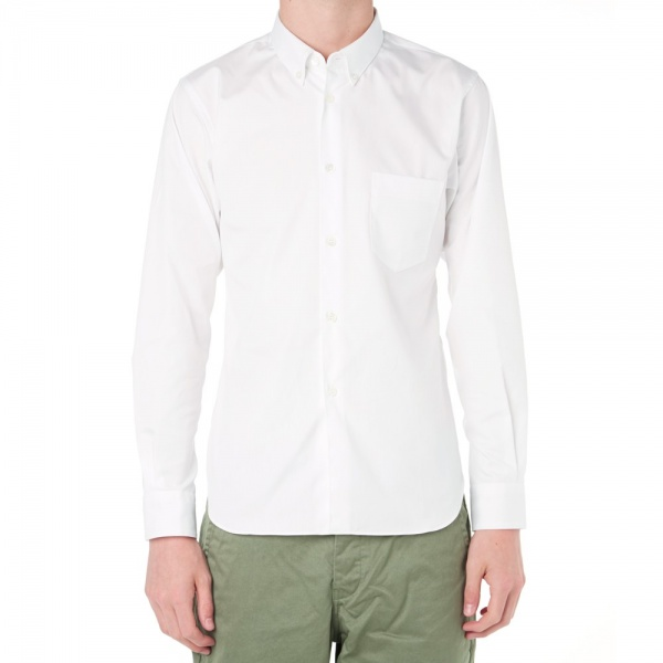 09 06 2014 commedesgarcons shirtbuttondownoxfordshirt white 5 Comme des Garçons SHIRT Button Down Oxford Shirt