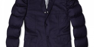 Thom Browne Down-Filled Wool Blazer
