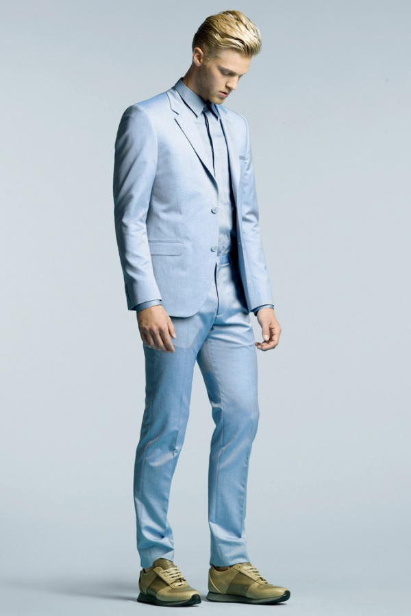 calvin klein mens 2015 prespring collection lookbook 9 Calvin Klein 2015 Pre Spring Resort Collection Suiting