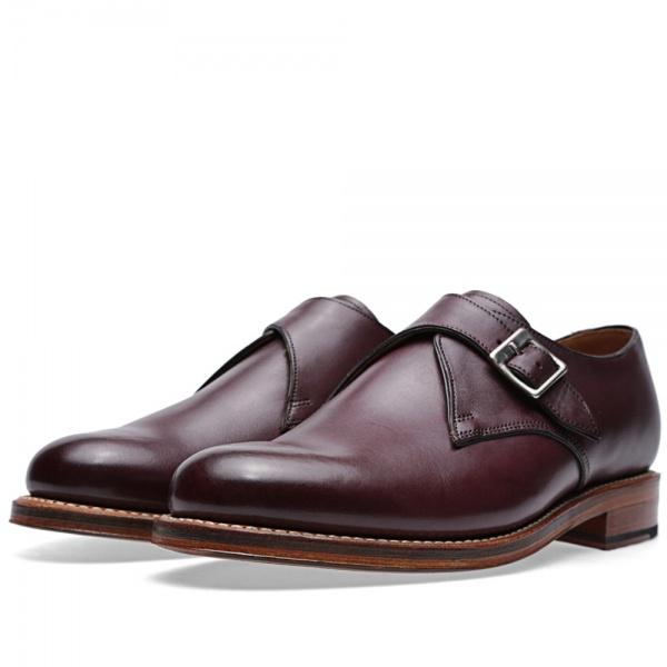 09 07 2014 grenson nathansinglestrapmonkshoe burgundy 1 Grenson Nathan Single Strap Monk Shoe