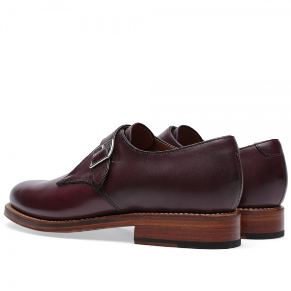 09 07 2014 grenson nathansinglestrapmonkshoe burgundy 3 Grenson Nathan Single Strap Monk Shoe