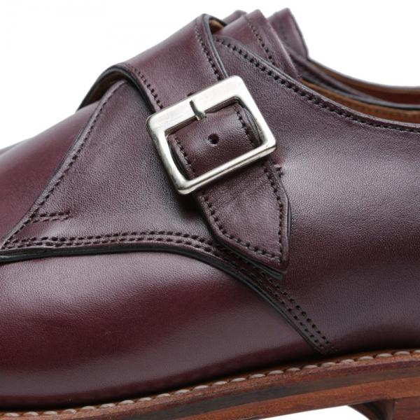 09 07 2014 grenson nathansinglestrapmonkshoe burgundy 7 Grenson Nathan Single Strap Monk Shoe